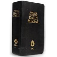 1962 Daily Missal Roman Catholic BLK