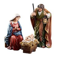 "Nativity Set 5"" Michael Adams 3-Pc"