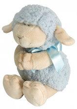 Plush Praying Lamb Blue