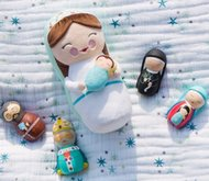 """Mother Mary Plush Doll (10"""")"""