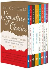 C. S. Lewis Signature Classics (8-Volume Box Set): An Anthology of 8 C. S. Lewis Titles: Mere Christianity, the Screwtape Letters, Miracles, the Great