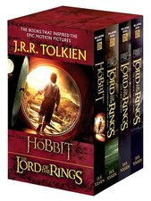 Boxed-Hobbit and the Lord of the Rings (Movie Tie-In): The Hobbit, the Fellowship of the Ring, the Two Towers, the Retu