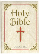 Saint Joseph Family / Wedding Edition of the Holy Bible