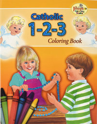 1-2-3 Coloring Book