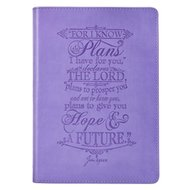 Journal Classic Purple I Know the Plans