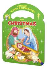 Catholic Activity Sticker Book Christmas