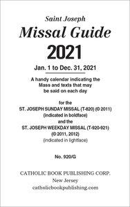 2021 St Joseph Sunday Missal (Annual): Prayerbook and Hymnal