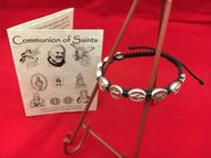 Communion of Saints Corded Bracelet