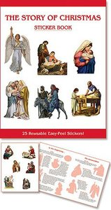 Aquinas Kids? Sticker Book - The Story Of Christmas