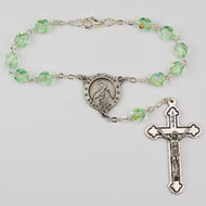 ST JUDE AUTO ROSARY CARDED