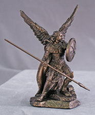 "4"" St Raphael Archangel"