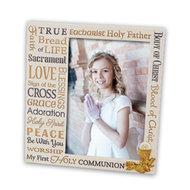 """Communion Frame Forever Blessed 7x7"""""""