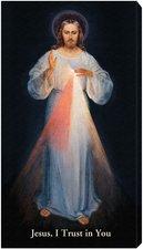 "Divine Mercy Vilnius 10 x 18"" Canvas (stretched, not framed)"