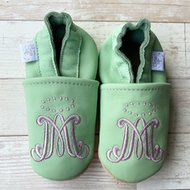 Chews Life Emmaus Crib Shoes Mint Ages 3-6 mo