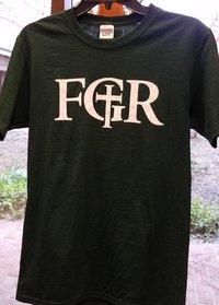 Jerzees FGR green dri-power short sleeve tshirt Large