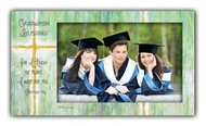Graduation Blessings, For I Know the Plans Photo Frame