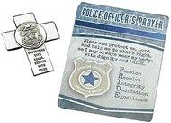 PF POLICE OFFICE CROSS VISOR CLIP CARDED