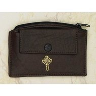 Leather Rosary Case - Black
