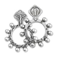 Rosary Ring with Miraculour Medal Min 20 7-5-3