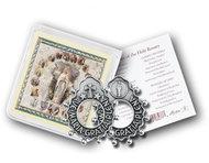 Rosary Ring and Prayer Ave Maria