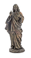 "10.5"" Sacred Heart of Jesus Bronzed"