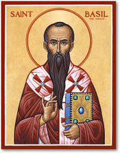 Icon St Basil the Great