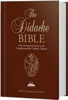 B-Didache Bible NABRE (Hardbound) w/NABRE footnotes & catechism commentary